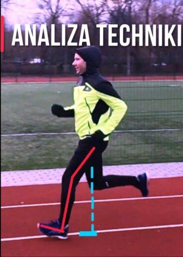 Najczęstsze błędy w technice biegu. Analiza – Opis i ilustracje