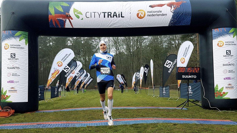 15:21 i zwycięstwo w biegu na 5km. City Trail Bydgoszcz