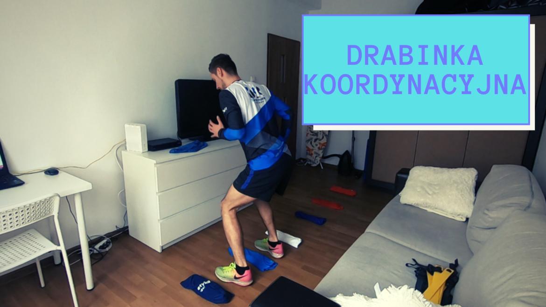 Wychowanie fizyczne w domu – Własna drabinka koordynacyjna – Stwórz i ćwicz. WF w domu.