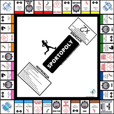 SPORTOPOLY – gra, w której inwestujesz w swoje zdrowie